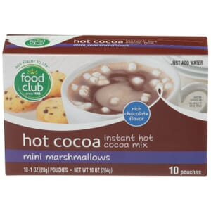 Hot Cocoa, Instant Hot Cocoa Mix, Mini Marshmallows