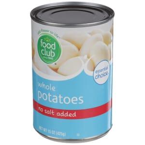 Whole Potatoes - No Salt Added