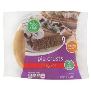 Pie Crusts, Regular