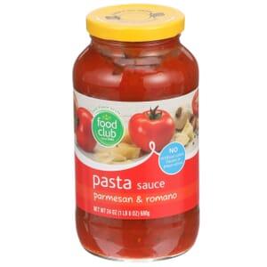 Parmesan & Romano Pasta Sauce