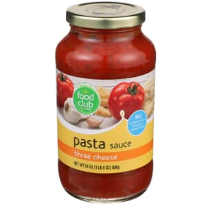 Three Cheese Pasta Sauce
