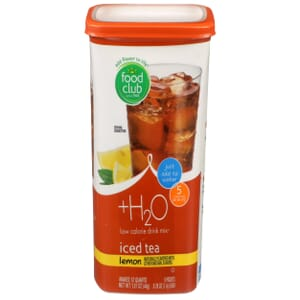 +H2O To Go!, Low Calorie Drink Mix, Lemon Iced Tea