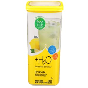 +H2O To Go!, Low Calorie Drink Mix, Lemonade