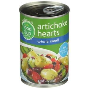 Artichoke Hearts, Whole Small