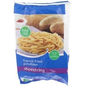 French Fried Potatoes, Shoestring