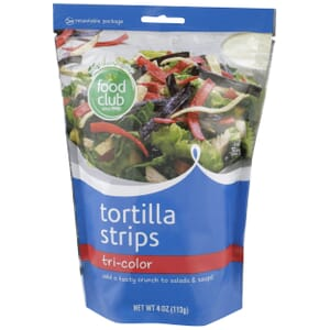 Tri-Color Tortilla Strips