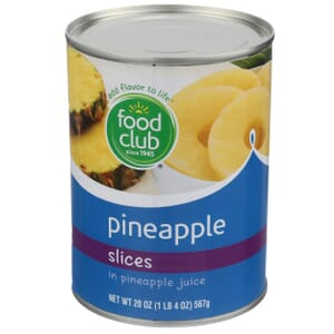 Pineapple Slices In Pineapple Juice