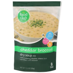 Cheddar Broccoli Dry Soup Mix
