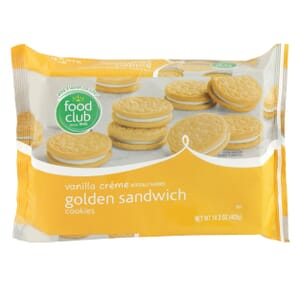 Vanilla Creme Golden Sandwich Cookies