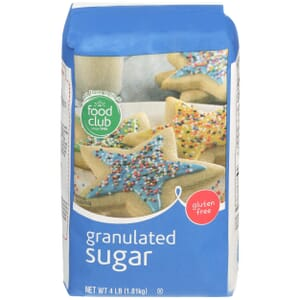 Pure Cane Granulated Sugar