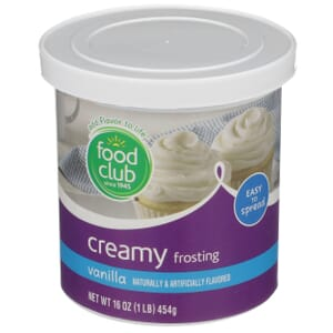 Vanilla Creamy Frosting