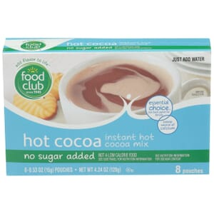 Hot Cocoa Instant Mix - No Sugar Added