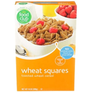 Wheat Squares Cereal
