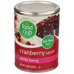 Cranberry Sauce, Whole Berry