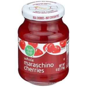 Maraschino Cherries, Whole