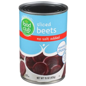 Sliced Beets - No Salt Added