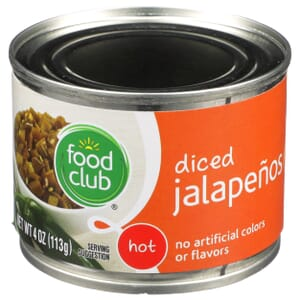 Jalapenos - Diced, Hot
