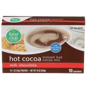 Hot Cocoa Instant Mix, Milk Chocolate