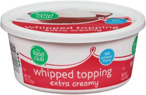 Whipped Topping, Extra Creamy