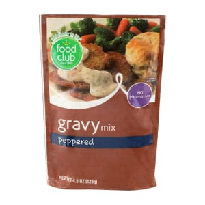 Gravy Mix, Peppered