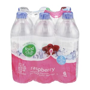 Raspberry, Purified Water Beverage