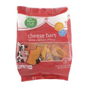 Sharp Cheddar Cheese, Cheese Bars