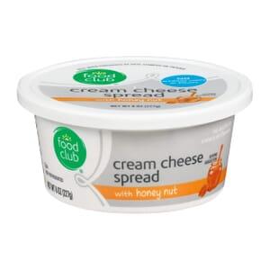 Cream Cheese Spread With Honey Nut