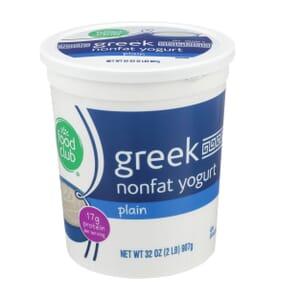 Plain Greek Nonfat Yogurt