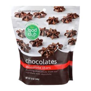 Chocolate Stars Chocolates