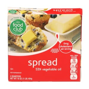 Spread, 53% Vegetable Oil