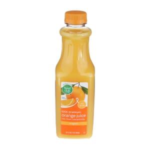 100% Premium Orange Juice - Original, No Pulp