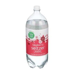Raspberry Seltzer Water