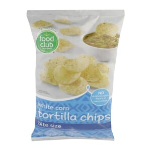 White Corn Tortilla Chips, Bite Size