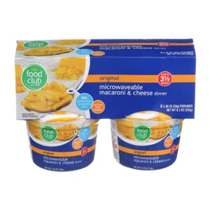 Original Microwaveable Macaroni & Cheese Dinner