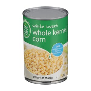 White Sweet Whole Kernel Corn