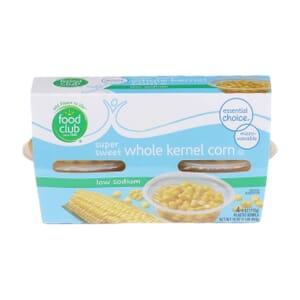 Super Sweet Whole Kernel Corn - Low Sodium