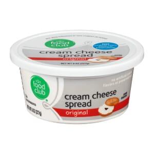 Cream Cheese Spread, Plain