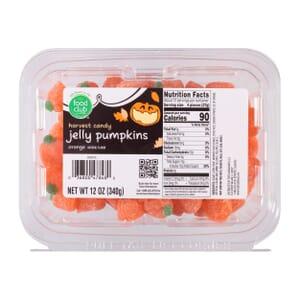 Orange Jelly Pumpkins Harvest Candy