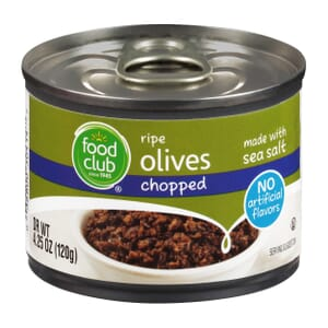 Ripe Olives, Chopped