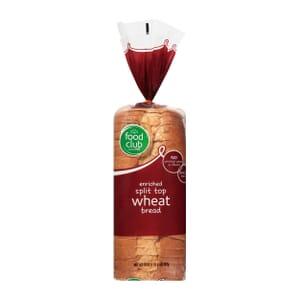 Split Top Wheat Bread - Enriched
