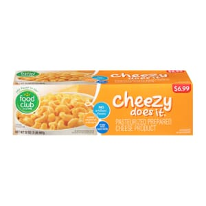 Cheezy Does It, Pasteurized Prepared Cheese Product