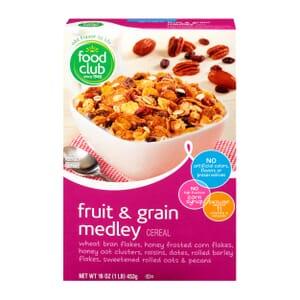 Fruit & Grain Medley Cereal